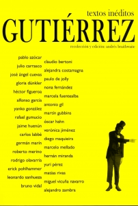 Gutiérrez (textos inéditos)