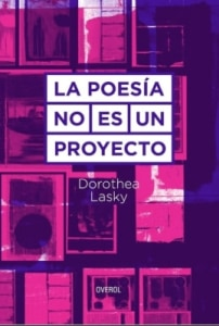 La poesia no es un proyecto