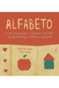 Alfabeto ilustrado bilingue en italiano y español