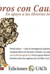 Libros con causa: Ediciones UACh presenta novedades y campaña de apoyo a librerías locales
