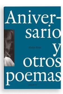Aniversario y otros poemas