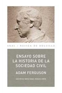 Ensayos sobre la historia historia de la sociedad civil