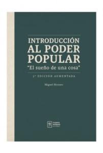 Introducción al poder popular. El sueño de una cosas. 3ra edición