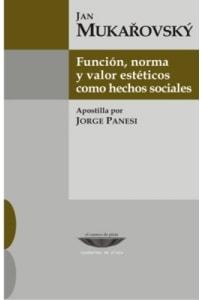 Función, norma y valor estéticos como hechos sociales