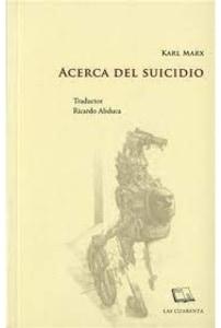 Acerca del suicidio