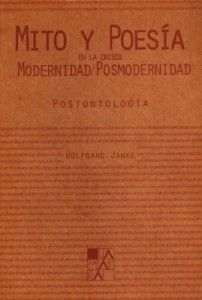 Mito y poesía en la crisis modernidad / posmodernidad