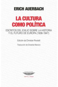 La cultura como política