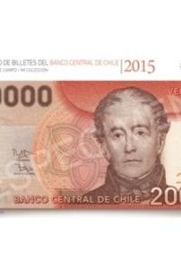 Catálogo de billetes del Banco Central de Chile 1925- 2015