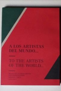 A los artistas del mundo...