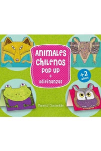 Animales chilenos pop-up + adivinanzas