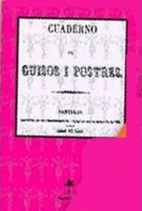 Cuaderno de Guisos i Postres.