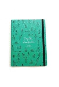 Elegantes Planificadas por Sol Díaz - Mini Planner verde