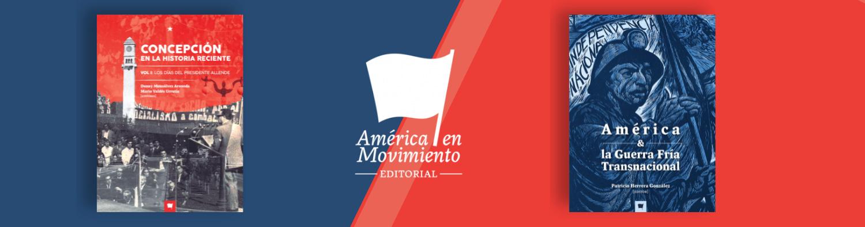 Banner america en movimiento