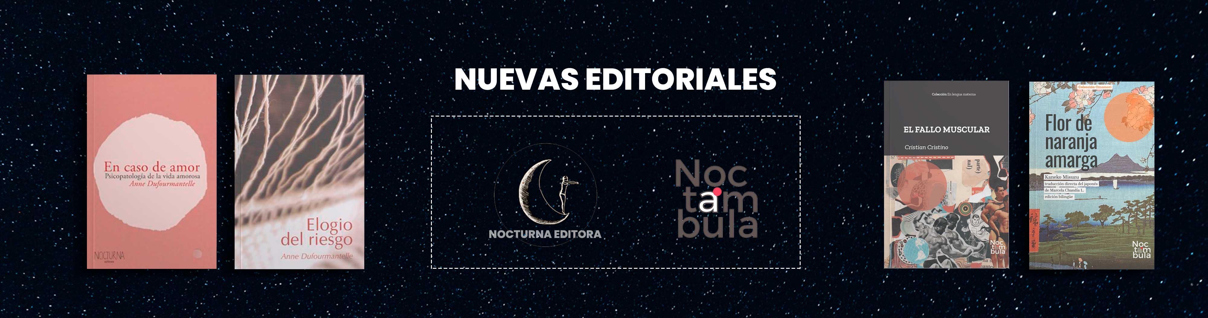 Banner nuevas editoriales