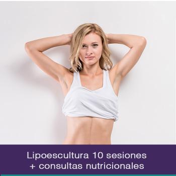 Lipoescultura 10 sesiones + 2 consultas nutricionales