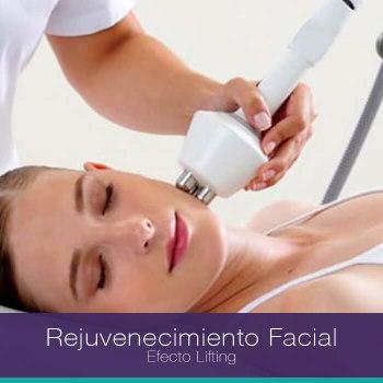 Promoción rejuvenecimiento facial efecto lifting