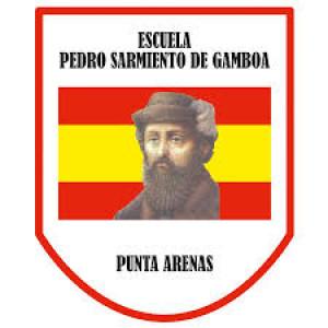 Emblema Escuela Pedro Sarmiento de Gamboa