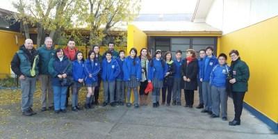 37 estudiantes de la Escuela Villa Las Nieves fueron premiados por participar de iniciativa sobre educación cívica