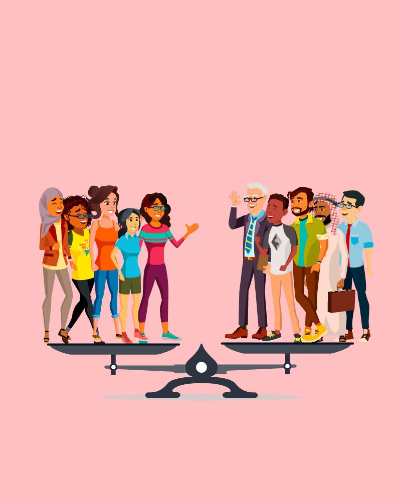 Imagen de la temática La Igualdad