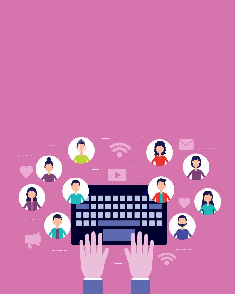 Imagen de la temática Redes sociales, peligros y cómo usarlas