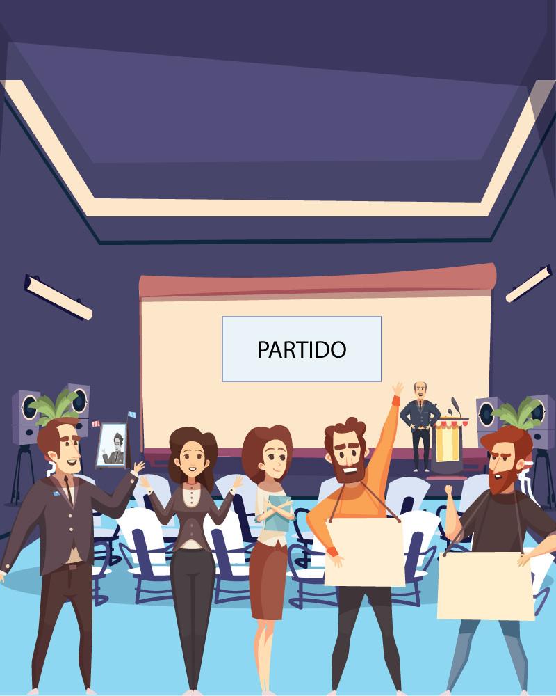Imagen de la temática Conociendo los partidos políticos