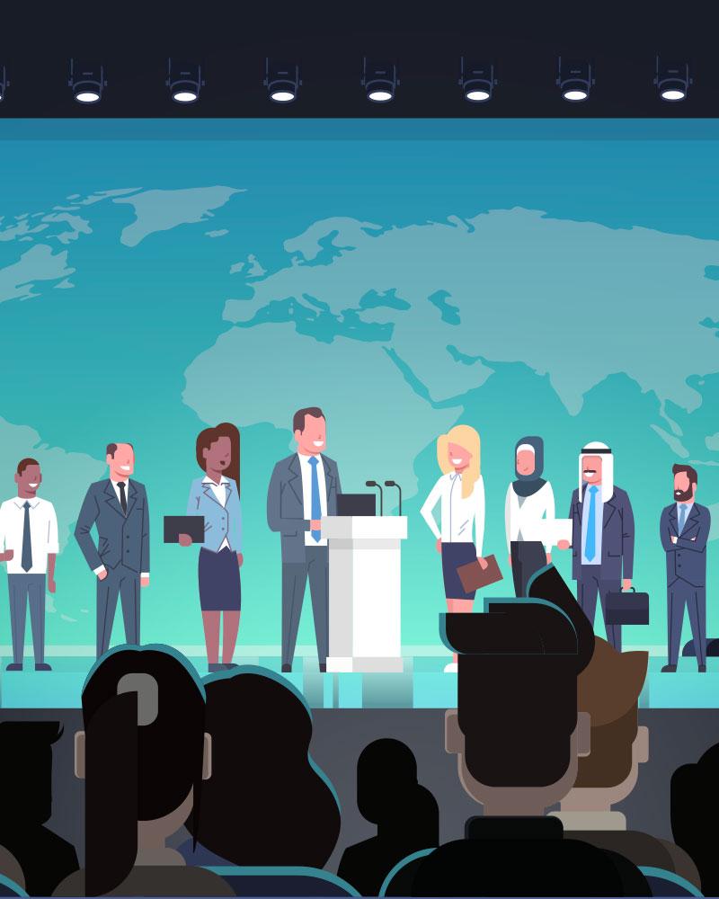 Imagen de la temática Reuniones de lideres mundiales y sus objetivos