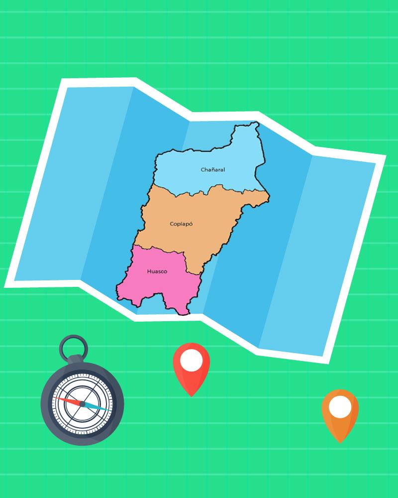 Imagen de la temática Descubre la geografía de Copiapó