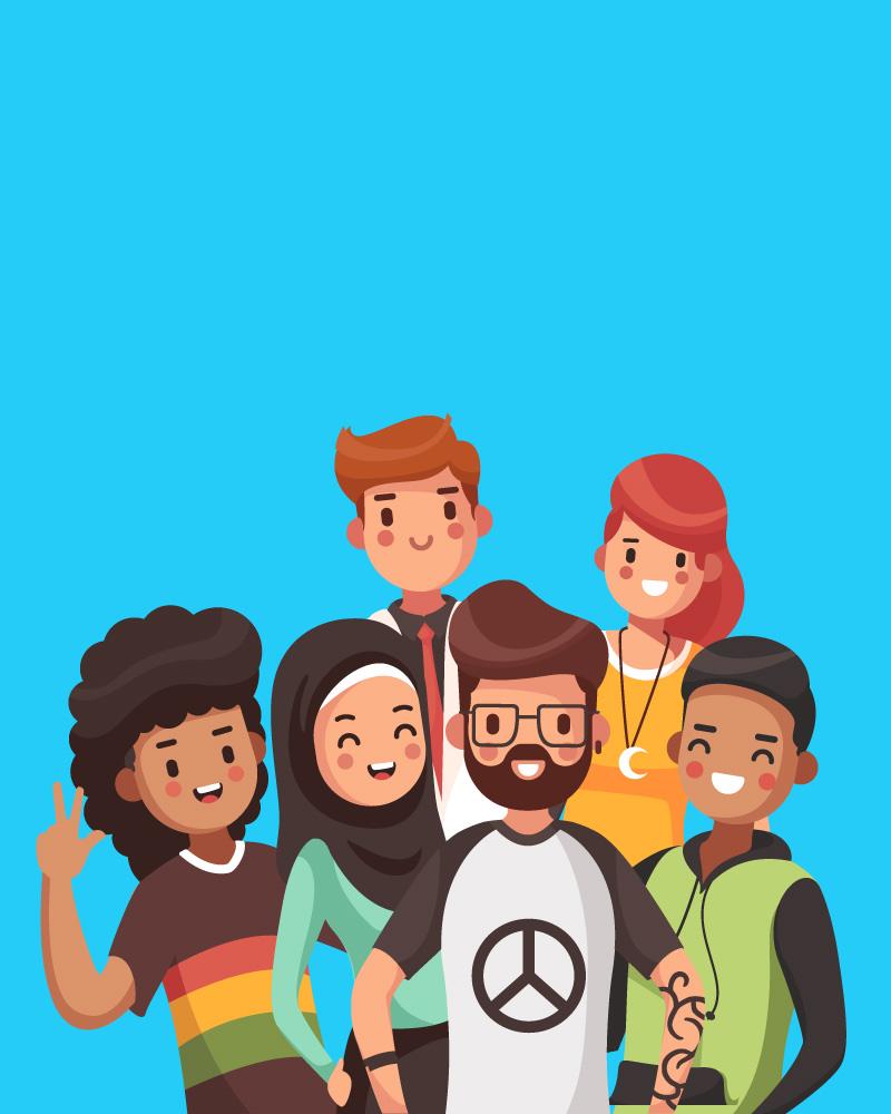 Imagen de la temática Los Derechos Humanos