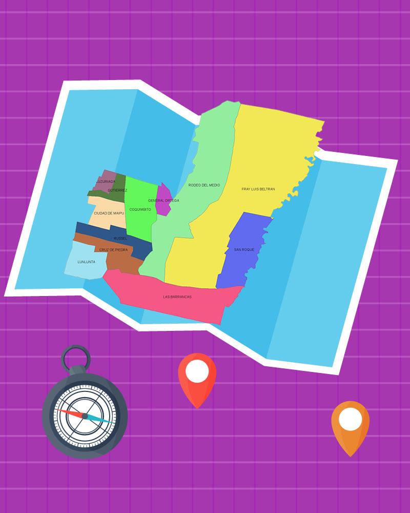 Imagen de la temática Descubre la geografía de Maipú