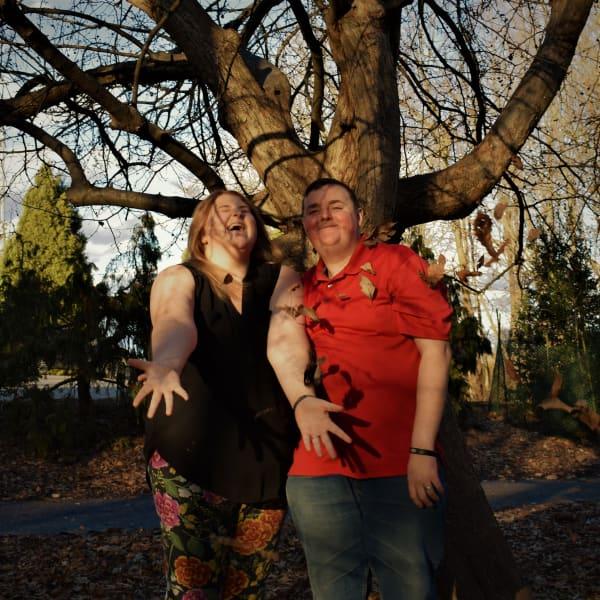 Having fun at the Arboretum!