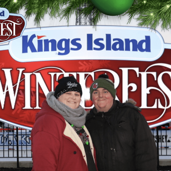 Winterfest at King's Island together