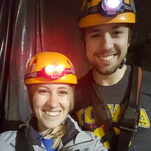 We love trying new things. Here we went zip lining!