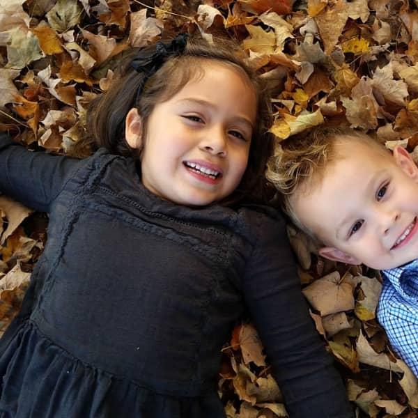 Brynlea and Zane last fall