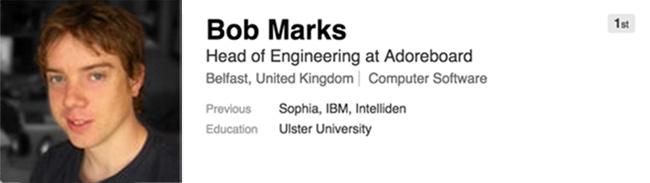 Bob Marks, Adoreboard