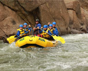 Whitewater Rafting and Zipline Trip Granite, The Gauntlet - Full Day