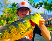 Fishing Tour Miami, Airport Lakes - 4 Hours