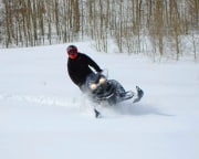 Snowmobile Tour for 2 on Private Trails, 2 Hours - Park City