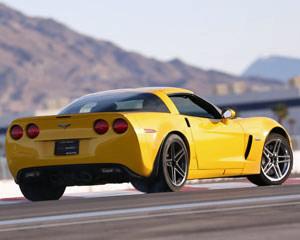 Corvette Z06 Ride-Along - Auto Club Speedway