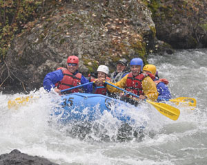 Whitewater Rafting Seattle, Nooksack River - Half Day