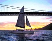San Francisco Bay Sunset Sailing Cruise - 1.5 Hours