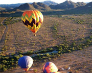 Hot Air Balloon Ride North Phoenix, Private Basket - 1 Hour Flight