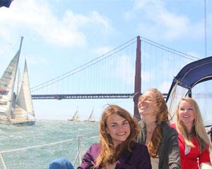 San Francisco Bay Sailing Tour, 6 Passengers - 4 Hours