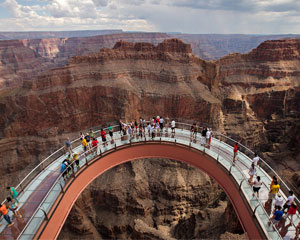 Grand Canyon Helicopter Tour West Rim & Skywalk Express Tour - 70 Minute Flight (FREE ROUND TRIP SHUTTLE FROM HOTEL!)