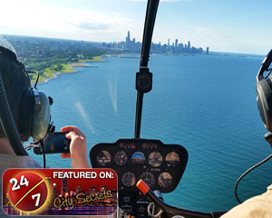 Helicopter Tour Chicago - 15 Minute Flight