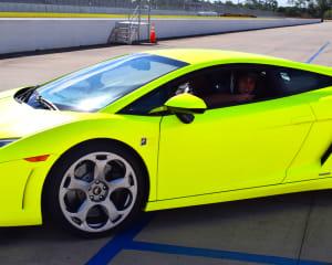 Lamborghini Gallardo Drive, 3 Laps - Palm Beach International Raceway