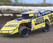 Dirt Track Racing, 10 Laps - Perris Auto Speedway
