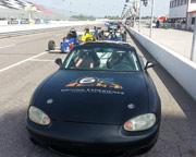SCCA Mazda Miata 3 Lap Ride Along - Iowa Speedway