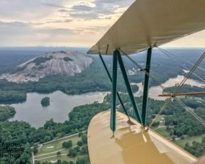 Biplane Ride Atlanta, Stone Mountain Tour - 25 Minutes
