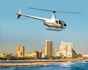 Helicopter Ride, Princeton to Atlantic City - 2 Hours