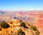Grand Canyon Day Hike with Trailside Lunch, Sedona and Flagstaff - Full day